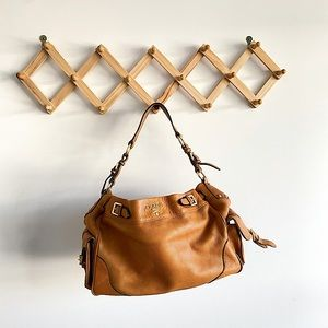 Prada leather Tan Bag - faux